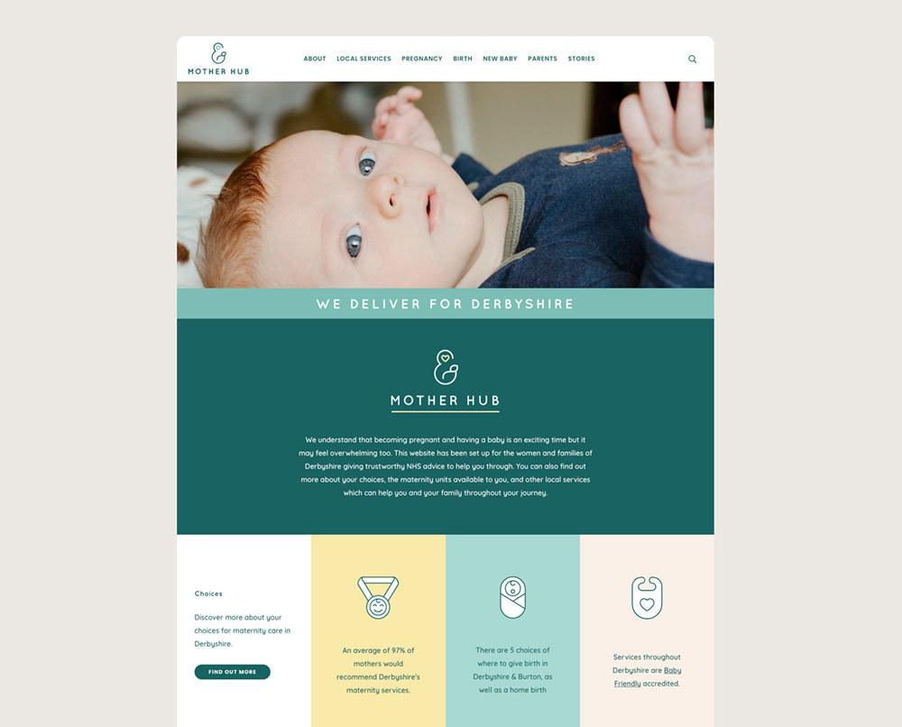 Mother Hub Brand Website
