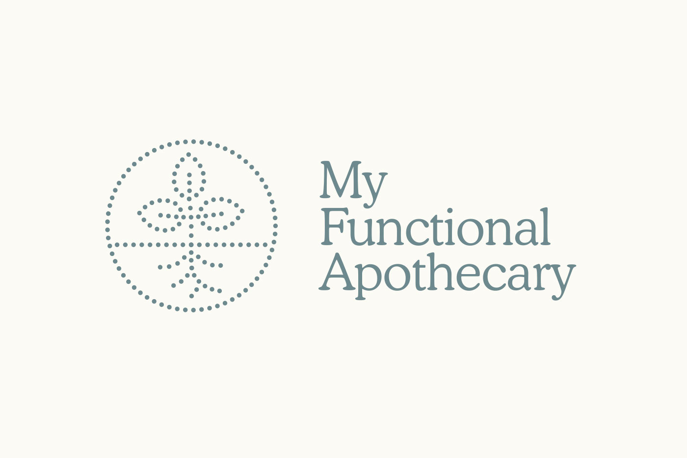My Functional Apothecary Branding Logo Identity