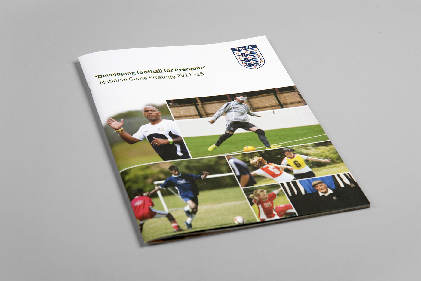 The Fa National Game Strategy Design Booklet Print Cover