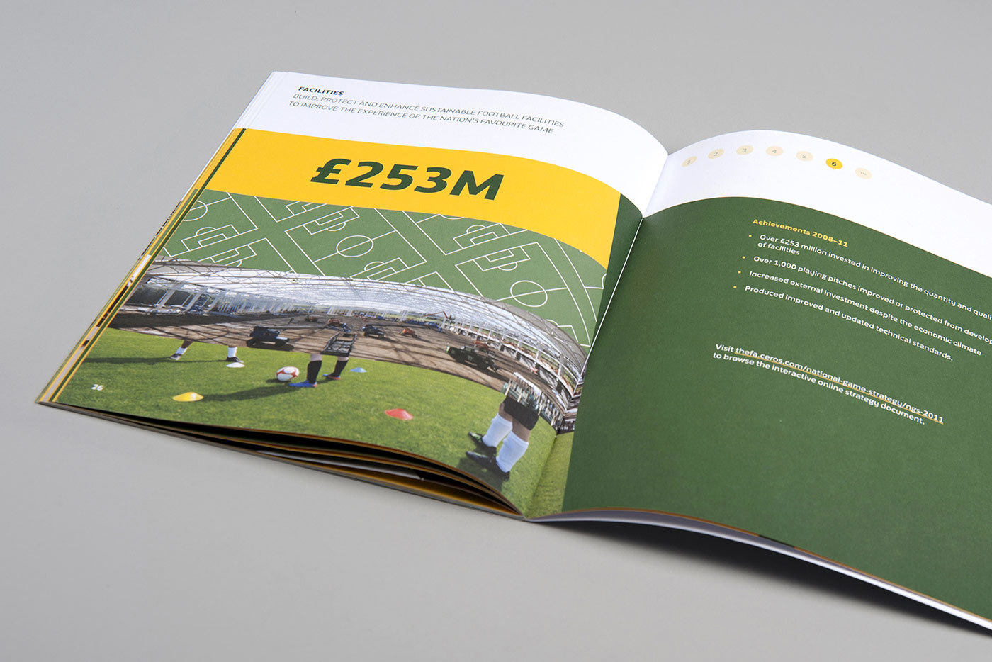 The Fa National Game Strategy Design Booklet Print