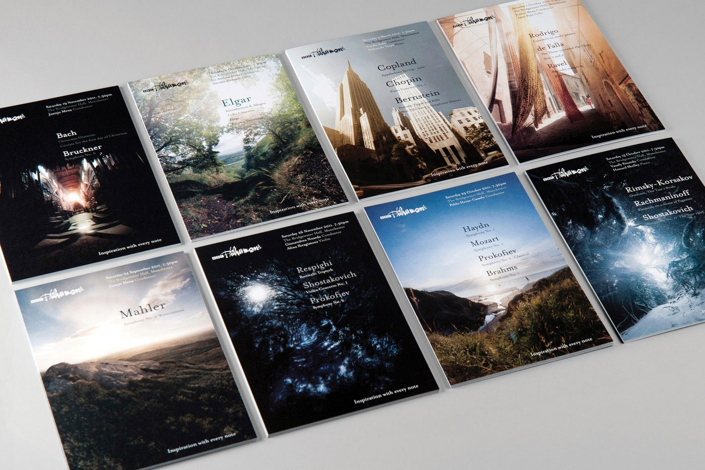 Arts charity web design branding bbc philharmonic 1