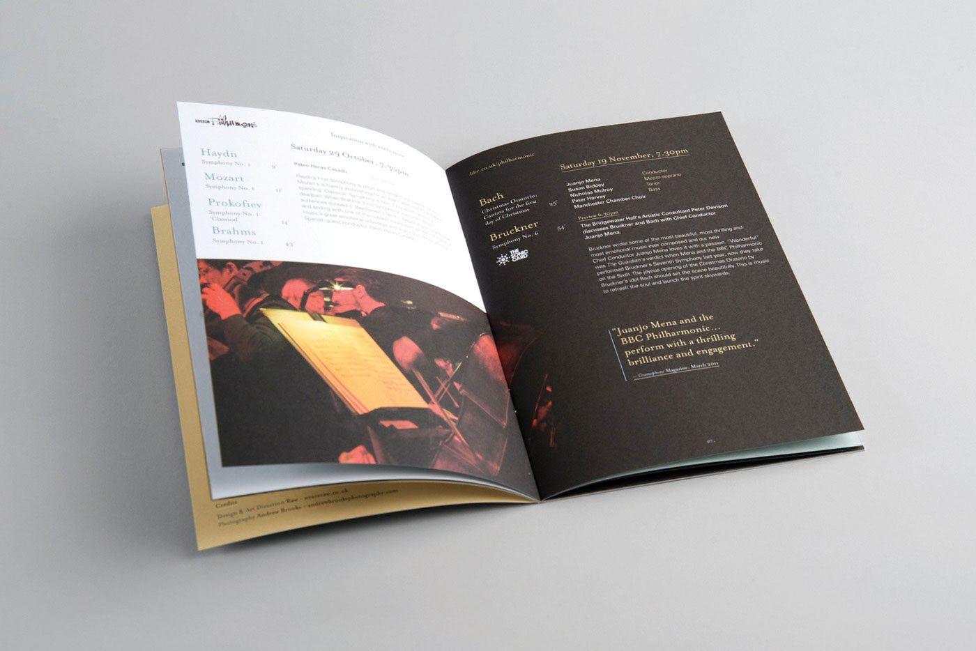 Arts charity web design branding bbc philharmonic 3