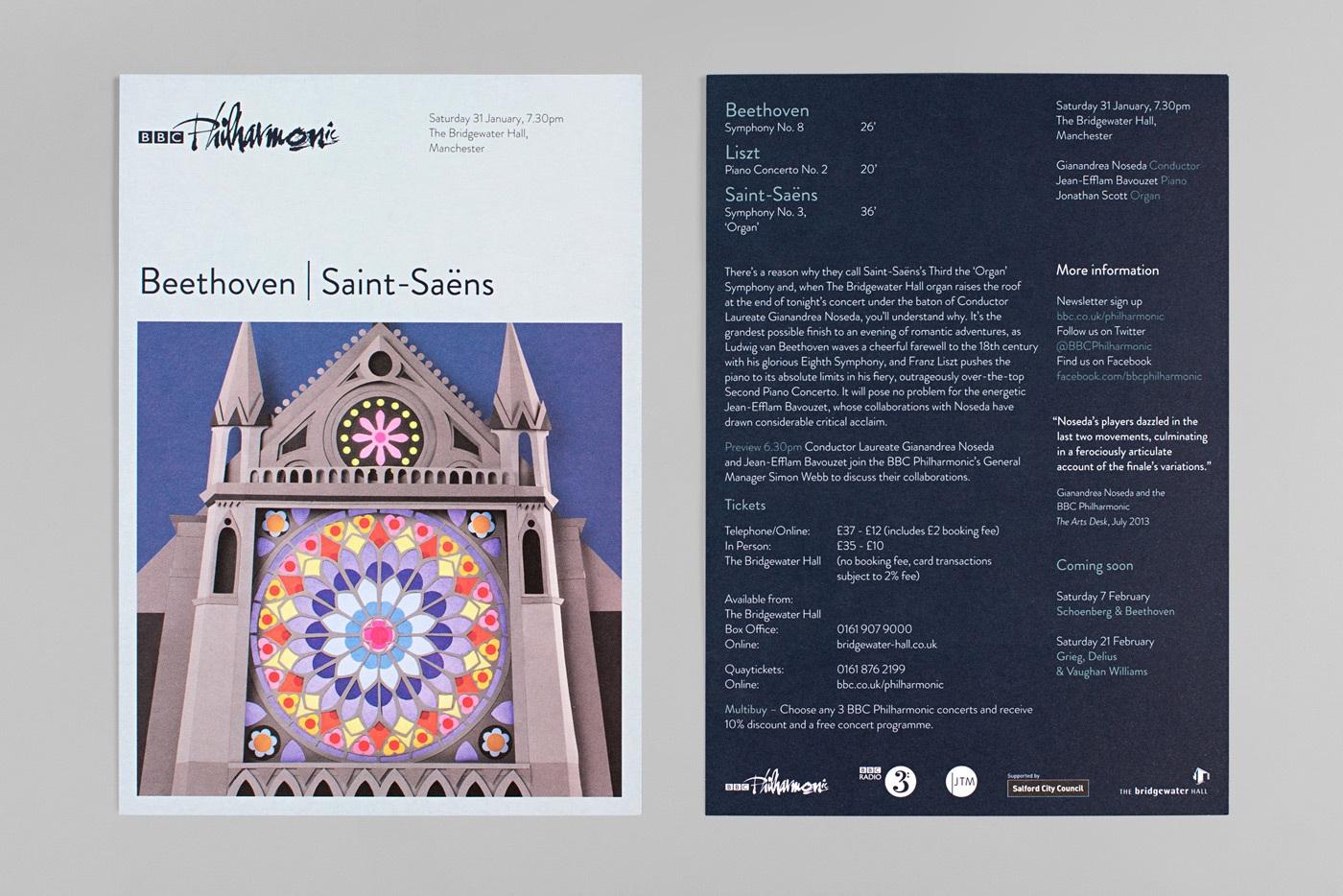 Arts charity web design branding bbc philharmonic 4