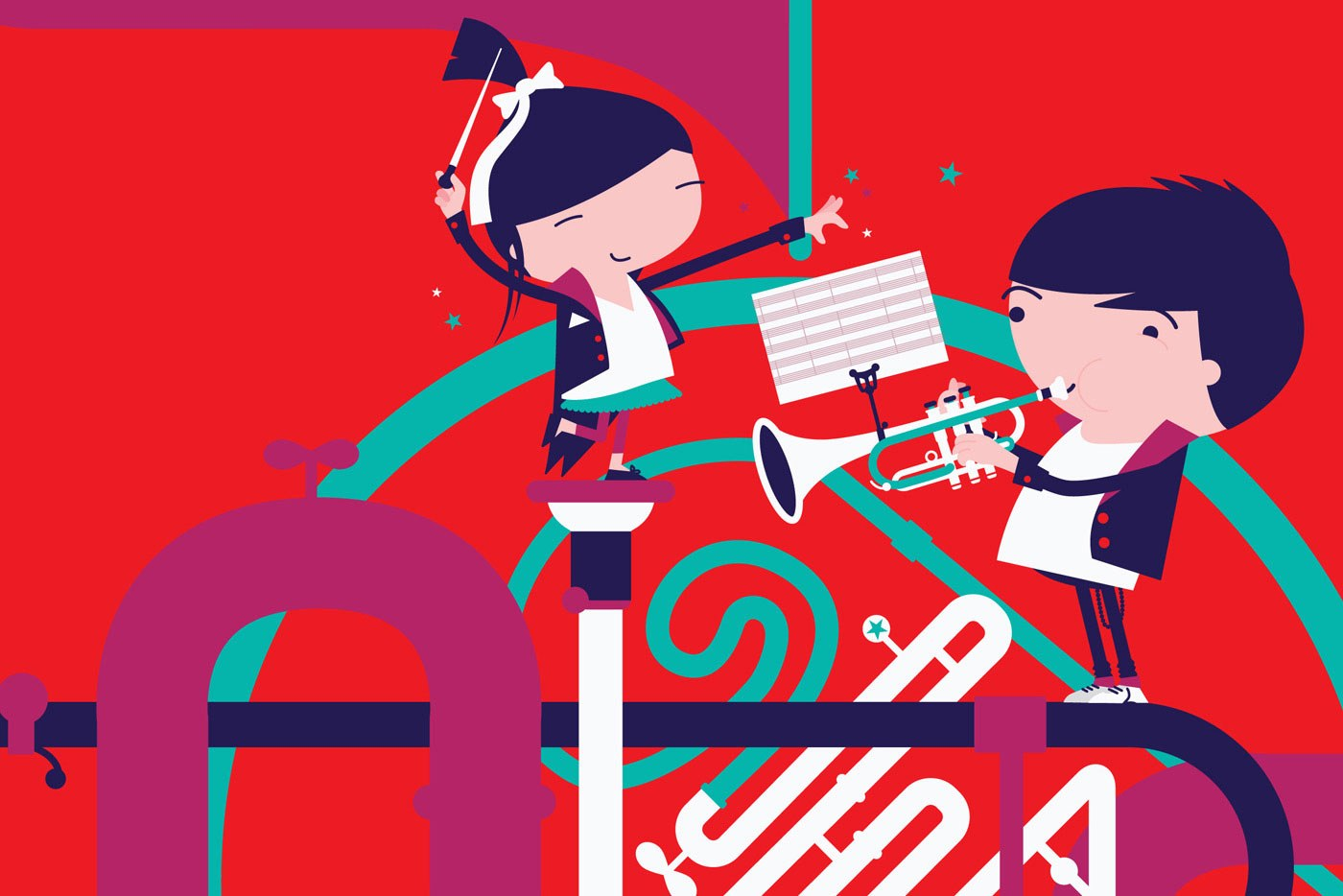 Arts charity web design branding bbc philharmonic 6