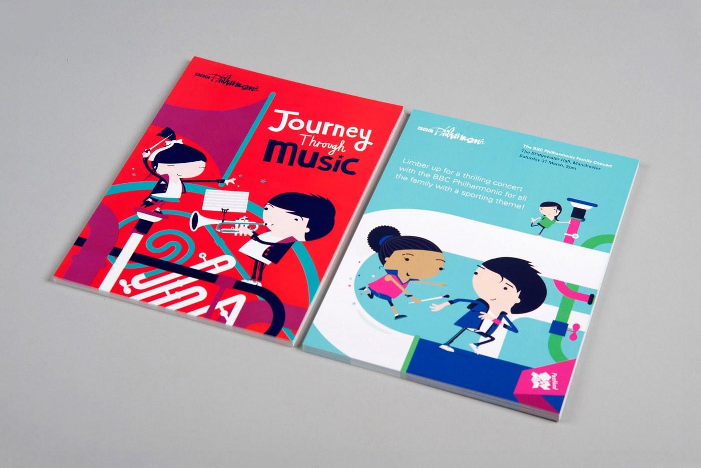 Arts charity web design branding bbc philharmonic 7