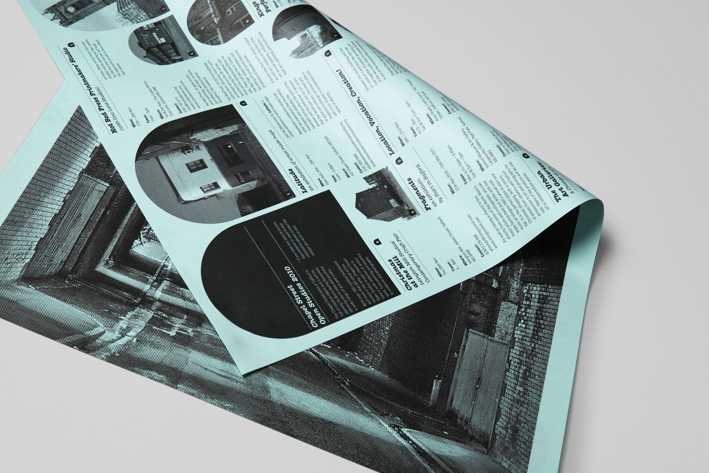 Arts charity web design branding chapel street poster