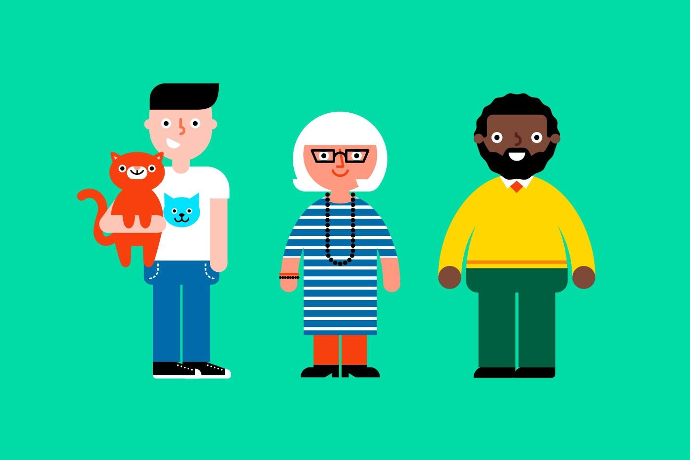 Arts charity web design branding vegetarian society