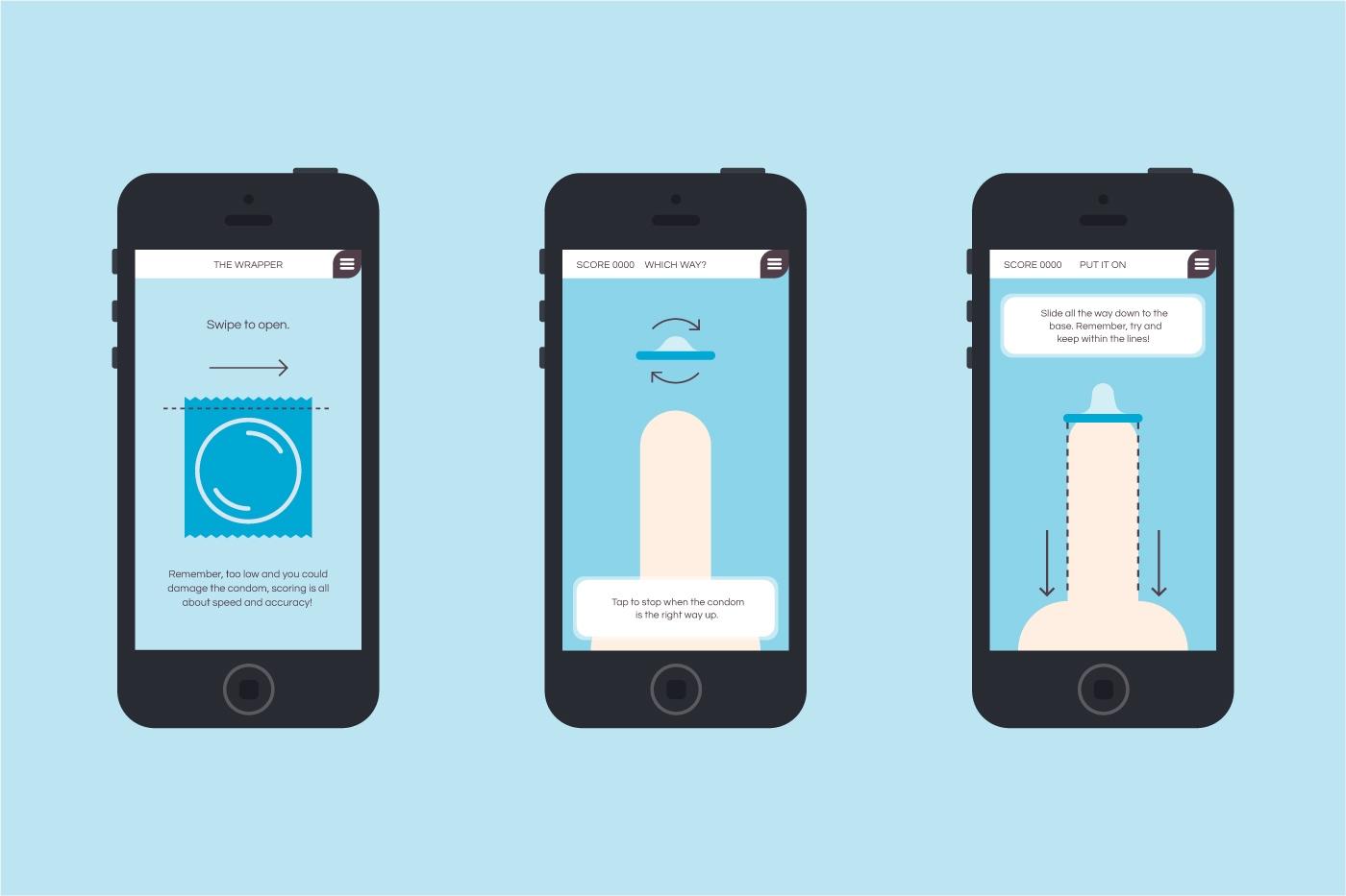 Medical web design agency branding raw dom app