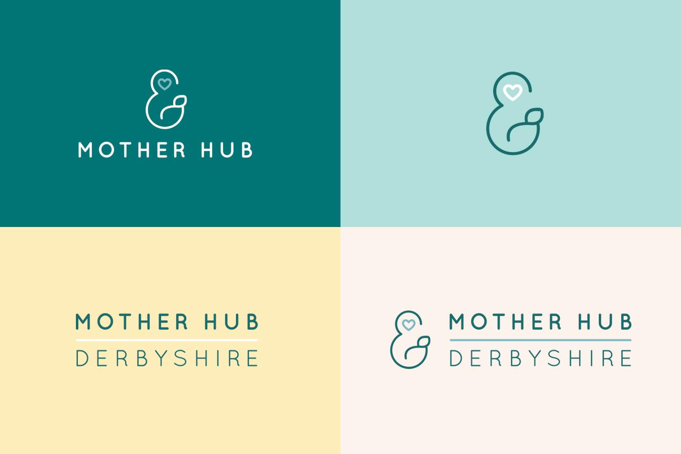 Motherhub Logo Brand Colours