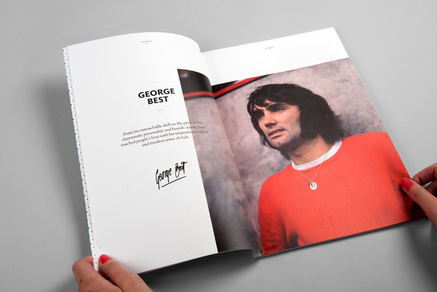 Sports web designers branding specialists george best 2